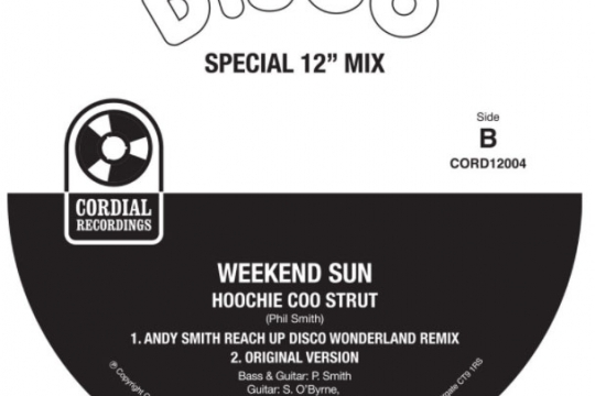 DJ Andy Smith Reach UP Disco Wonderland remix of  'Weekend Sun 'out now